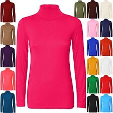 Polo Neck Unbranded Tops & Shirts for Women