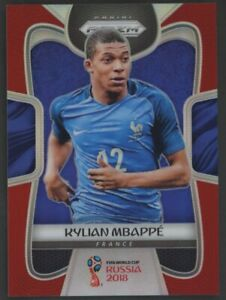 2018 PANINI PRIZM WORLD CUP KYLIAN MBAPPE RED 127/149 HOT #80