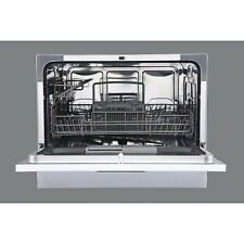 Sunbeam Compact Countertop Dishwasher 6 Cycles & Delay Start (Silver) New In Box