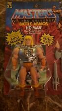 Masters of the Universe Origins Deluxe He-Man 5.5 inch Action Figure - GVL76