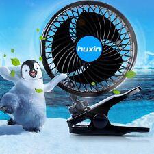 Summer Dc12v/24v Vehicle Car Fan Cooling Silent Adjustable Speed Truck Cooler DC 12v 6 Inch