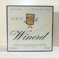 Winerd The Wine Tasting Game New Sealed 2003