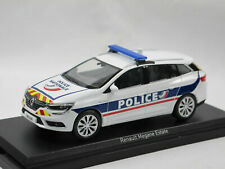 RENAULT MEGANE ESTATE 2016 POLICE NATIONALE NOREV 517789 1/43 BREAK FRENCH SW