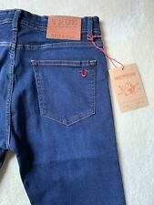 True Religion Jeans Blue Stretch Slim Fit Rocco Division New With Tags W38 L32