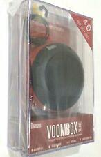 DIVOOM VOOMBOX PORTABLE WIRELESS BLUETOOTH 4.0 SPEAKER TRAVEL RUGGED RED TRIM