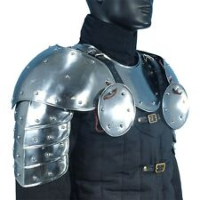 Warrior Pauldrons, Shoulder Armor, LARP, Medieval, Theater, Cosplay, Knight