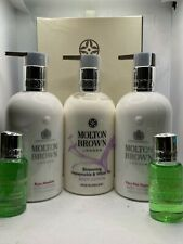 Molton Brown Pink Pepper, Rosa Absolute & blossming Body Lotion 300ml set
