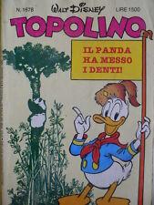 Topolino n°1678 [G.273] - BUONO –