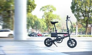 Folding electric commuter eBike with luggage rack 250w 35km/h