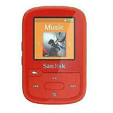 SanDisk SDMX28-016G-G46R Clip Sport Plus MP3 Player