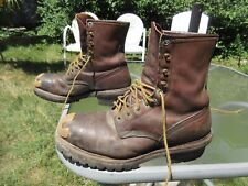 Red Wing Steel Toe Insulated Logger Boots # 4418 / Us men 10.5 D / Pre-owned
