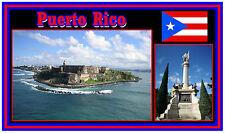 Portorico - Negozio di souvenir novità Magnete del frigorifero - NUOVO - REGALO