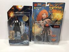 Lot of(2) Different Pirates of the Caribbean Angelica & Cynder Fire Skin Variant