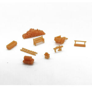 Outland Models Railroad Scenery Country Farm Tool Accessory Set N Scale 1:160