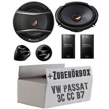 VW Passat 3C CC B6 B7 Front - Pioneer 16cm Lautsprecher System Einbauset Boxen