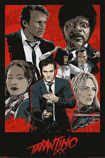 Quentin Tarantino XX 24x36 in Movie Poster - Reservoir Dogs, Pulp Fiction