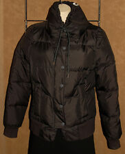 JUICY COUTURE - Black - Puffer - DOWN FILLED Quilted - Warm JACKET size S *NICE*