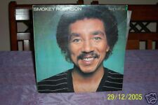 "SMOKEY ROBINSON BEING WITH YOU -  LP RECORD VINYL 12"" 33/3"