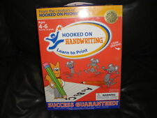 NEW NIB HOOKED ON HANDWRITING LEARN TO PRINT AGES 4-6
