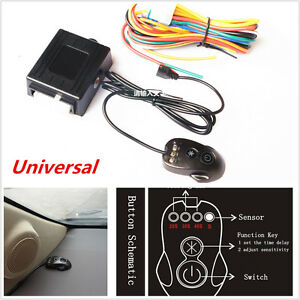 Universal Car Automatic Headlight Headlamp Light Sensor Smart Control Kit On/Off