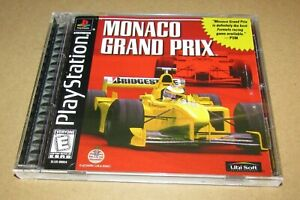 Monaco Grand Prix for Playstation PS1 Complete Fast Shipping