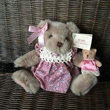 """RUSS  Bears From The Past  """"Mayfair""""   6 1/2"""" Plush"""