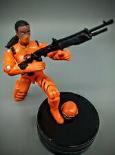 GI Joe Female Cobra Trooper Custom w Black /&  Red Uniform