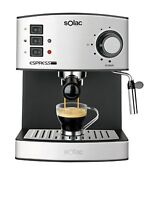 Solac CE4480 coffee espresso and cappuccino. 19 bar 1.25L vaporizer Genuine NEW