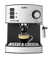 Solac CE4480 coffee espresso and cappuccino. 19 bar 1.25L vaporizer Genuine NEW