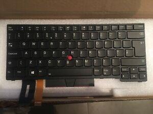 Lenovo ThinkPad 01YP388 01YP548 UK Backlit Keyboard T490