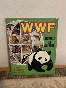 WWF animali da salvare edizione panini 1986 completa