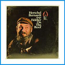 Fiddler On The Roof Sings By Herschel Bernardi New Record Harmony KH 30757 #718