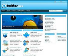Twitter Popular Niche Turnkey Affiliate Website Online Free Installation+Hosting