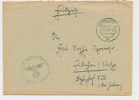 GUMBINNEN  Inf. Pz..Jäg. Ers. Kp. 206 Russland Ostpreusen 1942 Feldpost WW2 (253