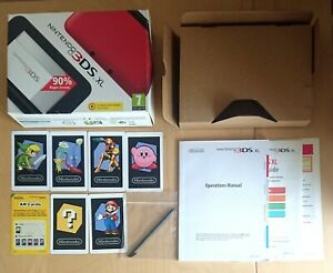 Box, Packaging, Instructions, AR Cards And Stylus For Nintendo 3DS XL. VGC