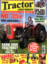 Tractor & Machinery Magazine. January 2012 - MF 35x 50th CELEBRATION