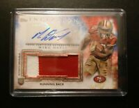 Mike Davis Rookie Patch Auto 2015 Topps Inception  Autograph Card SC Panthers
