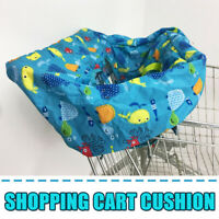 Baby Shopping Trolley Cart Seat Mat Protector Pads Cushion Kids Highchair