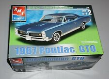 1967 Pontiac GTO AMT 1/25 Complete & Unstarted.
