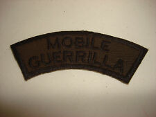 MOBILE GUERRILLA Vietnam War Subdued Tab Patch