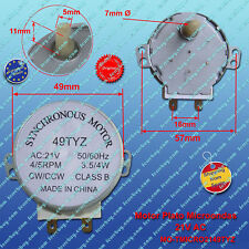 Synchronous motor 21VAC 3.5W 49TYZ microwave - Motor microondas 21VAC