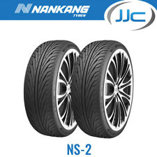 2 x Nankang NS-2 225 40 18 92W Extra Load Performance Tyres