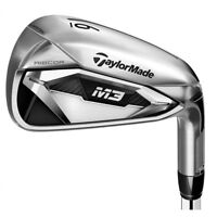 TAYLORMADE 2018 M3 IRONS STEEL SHAFT RH 5-PW SW REGULAR NEW #1088