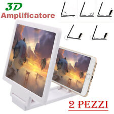 2PZ 3D HD Amplificatore Video Cellulare Schermo Lente D'ingrandimento Smartphone