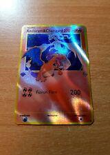 Pokémon 1. Edition Charizard & Reshiram Tag Team Ultra Rare Holo Glurak Orica