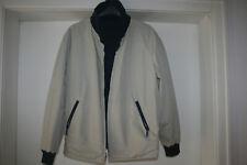 Fulwiline Sportswear Leichte Jacke Wendejacke Blouson Blau/Beige Gr. 29 Diolen