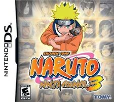 Naruto: Ninja Council 3 for Nintendo DS XL and 3DS VERY GOOD CONDITION + MANUAL
