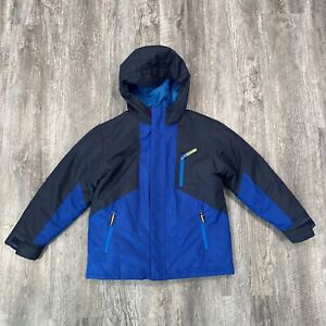Champion C9 Boys Blue Coat 3-in-1 with Removable Jacket Liner Yoith Small