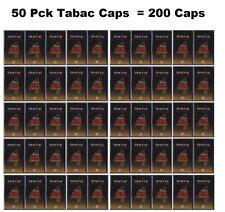 Snoke Caps 50 CONFEZIONI = 200 Caps Tobacco per e-sigaretta