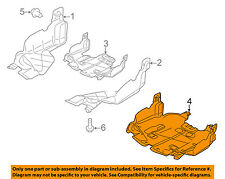 SUBARU OEM 08-14 Impreza Splash Shield-Under Engine/Radiator Cover 56410AG005